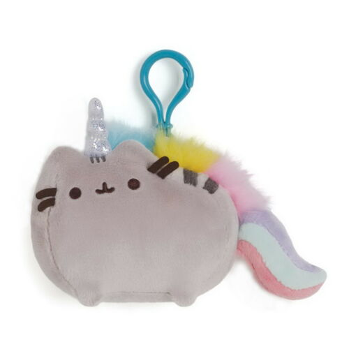 PUSHEENICORN Pusheen Katze Enesco GUND 4048886 Schlüsselanhänger Rucksackclip