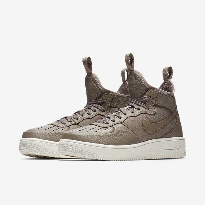 Nike Air Force 1 UltraForce Mid SEPIA Stone Femme Baskets baskets 864025-202
