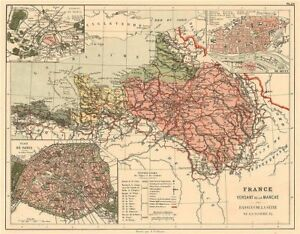 Map Of France In English.France Manche English Channel Watershed Seine Somme Orne Rance