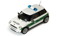 Ixo Mini Cooper Polizei (German Police) Modell Baujahr 2002, 1:43