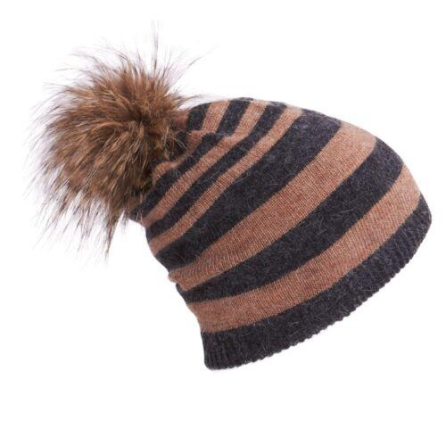 d'anniversaire Alice fourrure de Articles gants pompons 3 bonnet Ensemble Cadeau en écharpe avec strpe en d5qPUdA