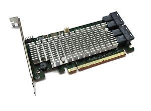 Highpoint SSD7120 NVME RAID Controller PCIe x16 Raid 0,1,5,10, JBOD SFF-8643 U.2