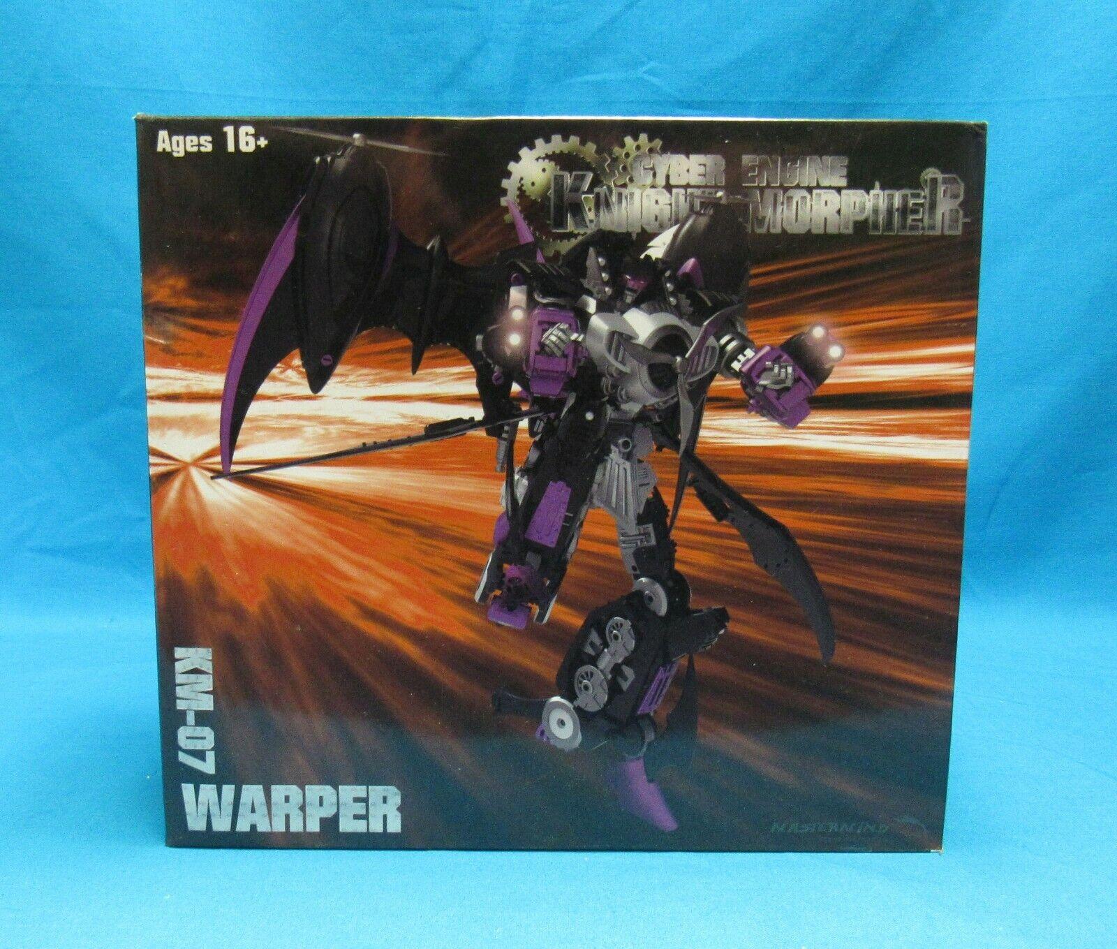 Mastermind Creations Cyber Engine Knight Morpher KM07 Warper 2012 Sealed