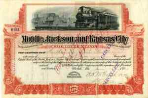 1901-Mobile-Jackson-amp-Kansas-City-RR-Stock-Certificate
