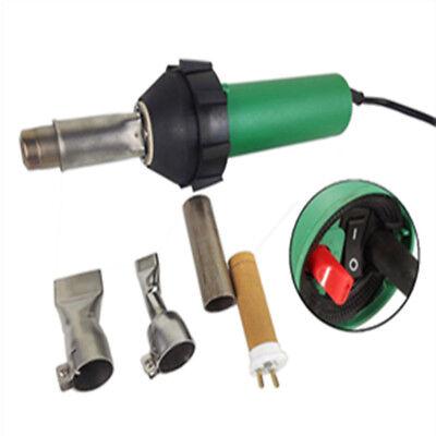Plastic Welder Gun Hot Air Gun With Nozzles Heating Element Welding Tools