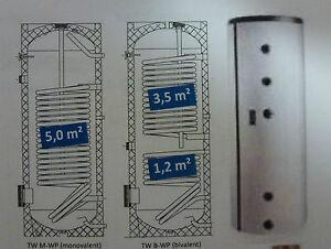 Waermepumpen-Trinkwasser-Speicher-Rehau-Solect-350-l-Heizung-Boiler-Warmwasser-BW