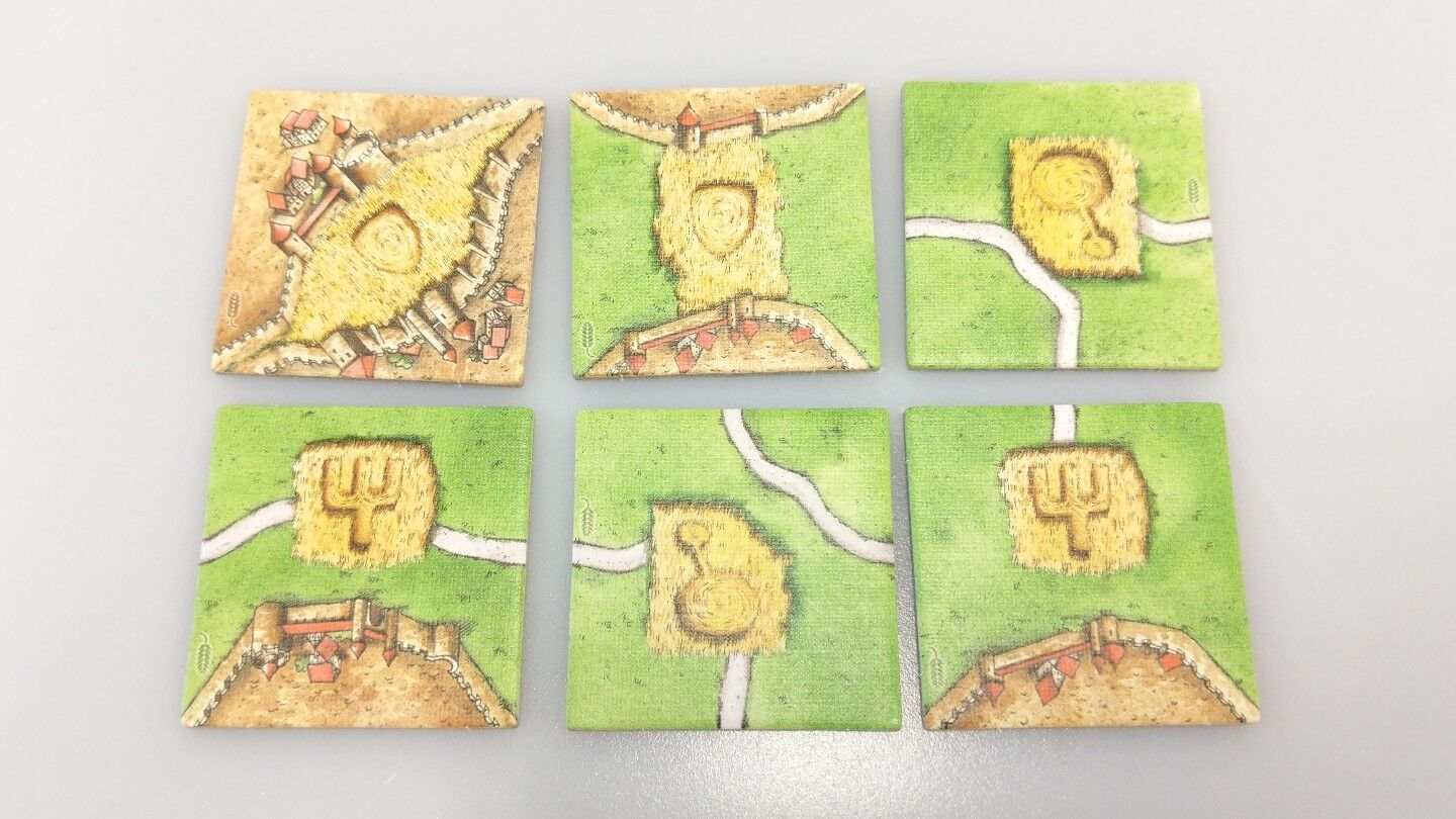 Carcassonne Corn Crop Circles II 2 Rare Classic Old Edition