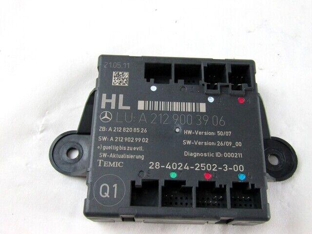 A2129003906 ECU Puerto Trasero Izquierda MERCEDES Clase C 200 CDI (W204