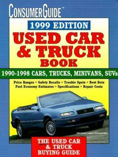 Used Car Book 1999 Exlibrary