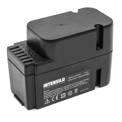 Intensilo Batterie 2500mAh Li-Ion pour Worx Landroid M1000 WG791E.1