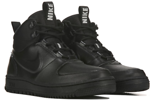 New-NIKE-Path-Mens-Winter-Ankle-sneaker-boots-work-triple-black-gray-all-sizes