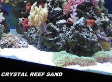 Live White Aragonite Aquarium Reef Sand ~ Stays White Forever! 60LBS!!