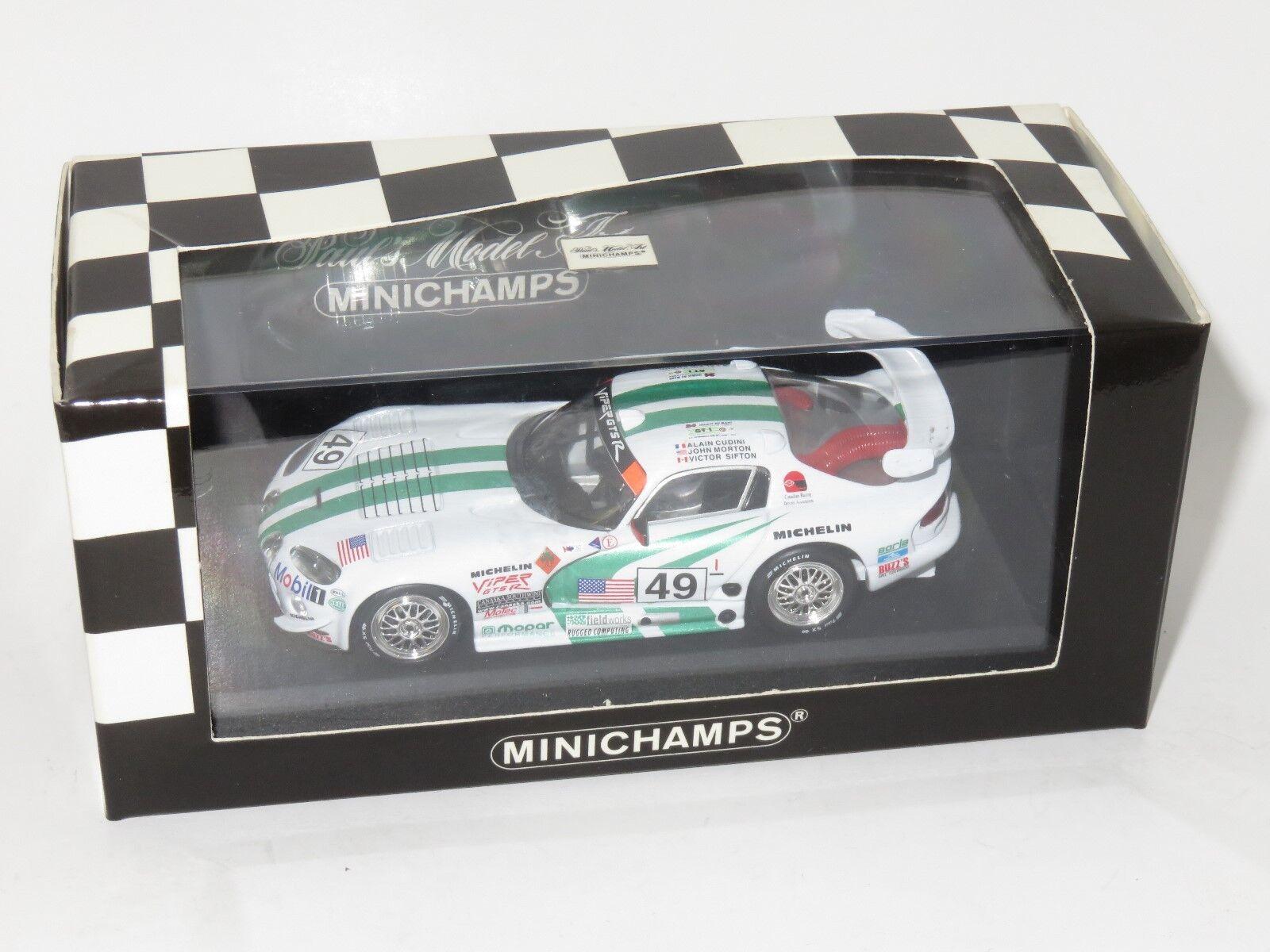 1 43 Dodge Viper GTS-R  24 Hrs Le Mans 24 Hrs 1996  Canaska Motorsport