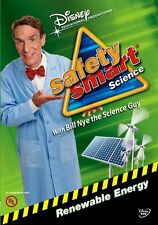 Disney Bill Nye The Science Guy Safety Smart Science Renewable Energy DVD