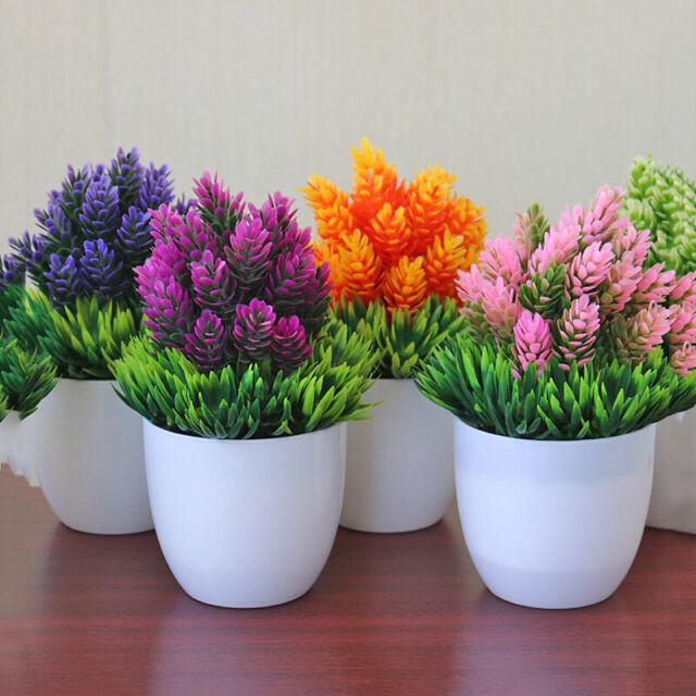 Ketuan Artificial Potted Plants Simulation Green Plant Home Garden Table Decor DIY Bridal Wedding Party Floral Decoration
