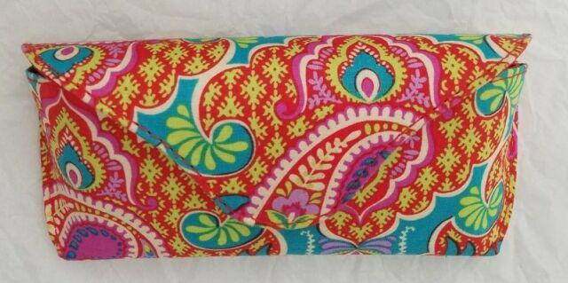 be30050ee3ef Vera Bradley Eyeglass Case Paisley in Paradise With Tag for sale ...