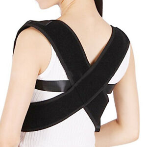Posture-Corrector-dos-epaule-soutien-Brace-ceinture-therapie-reglable-adulte