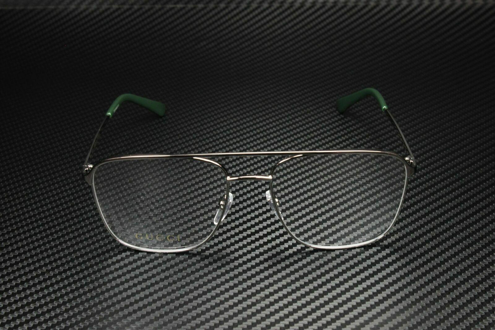 Cheap 100% guaranteed Gucci GG 0833o 003 Ruthenium Metal ...
