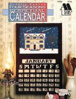 Four Seasons Perpetual Calendar, Annie's Plastic Canvas Patterns