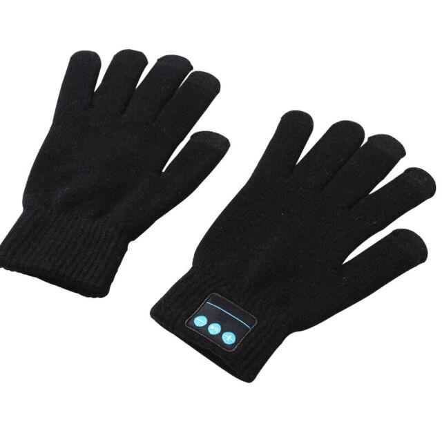 Wireless Winter Bluetooth Gloves for Smarthphone Built in Bluetooth Speaker