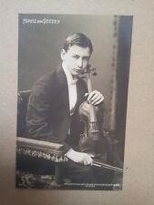 antique post card FRANZ VON VECZEY, Breitkopf & Haertel