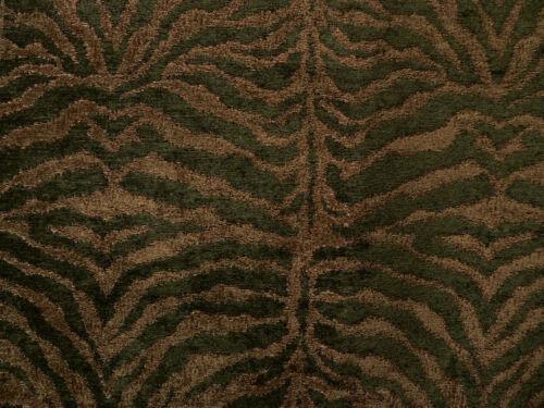 "Tiger Zebra 3/""x6/"" Fabric Samples Giraffe Animal Skin Designs"