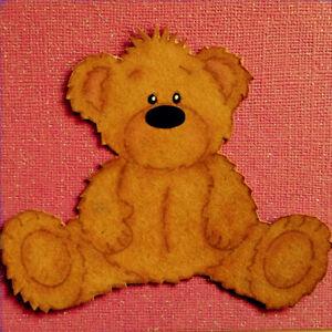 Fluffy-Teddy-Bear-Metal-Cutting-Dies-Scrapbooking-Embossing-Stencil-Craft-Album