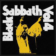 BLACK SABBATH-VOL. 4 copertina dell'album PATCH RICAMATE Doom Heavy Metal Ozzy Culto Nuovo