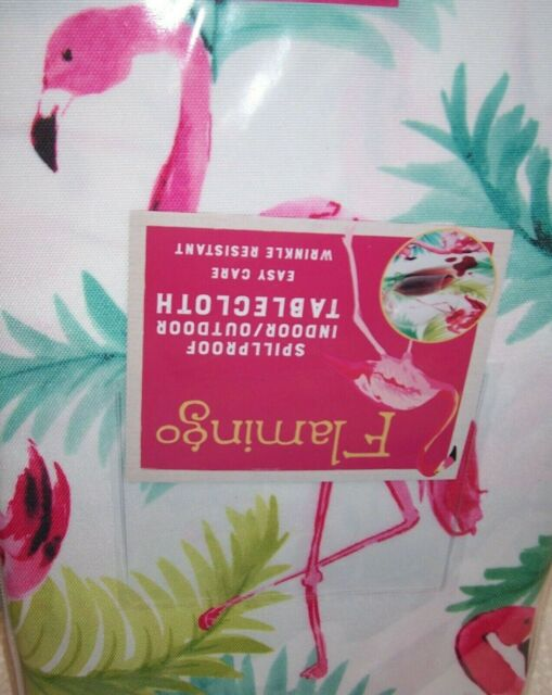 """Benson Mills Fuschia Fabric Tablecloth 60 /"""" x 84 /"""" New in Package"""
