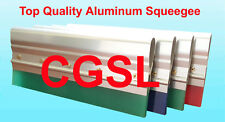 5 X 13 Screen Printing Aluminum Handle Complete W 75 Duro Green Squeegee Blade