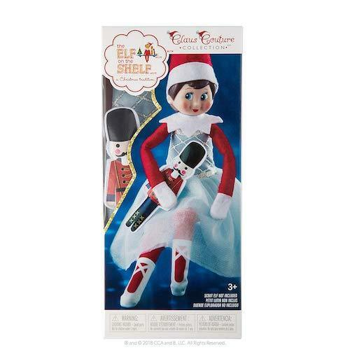 The Elf on the Shelf ® Noël Couture Collection ® Milou sugar-plum Duo