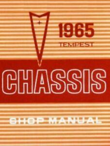PONTIAC 1965 GTO/Tempest/LeMans Shop Manual 65 | eBay