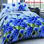 4Pcs-3D-Bedding-Set-Queen-Size-Quilt-Duvet-Cover-Bed-Sheet-Pillowcases-Bedroom thumbnail 10