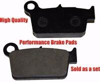 Suzuki Rm-z250 Rear Brake Pads Racing Pro Factory Braking 2004-2012 on sale