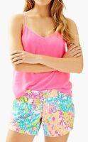 Lilly Pulitzer 5 Callahan Shorts, Lovers Coral, 0, 4, 6, 10,