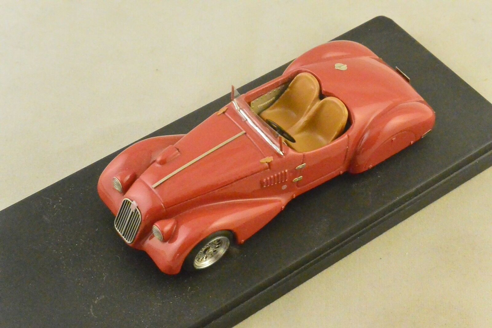Jolly model jl0630 - 6c fiat 1500 sport zagato 1938 red 1 43