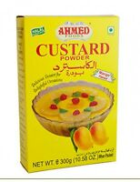 Ahmed Halal Custard Powder Mango Flavour 300g/10.58oz Usa Seller (f/s)