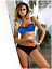 S-M-Marita-Bikini-Push-Up-Azul-Real-Negro-Alta-Calidad-Gabbiano-Nuevo