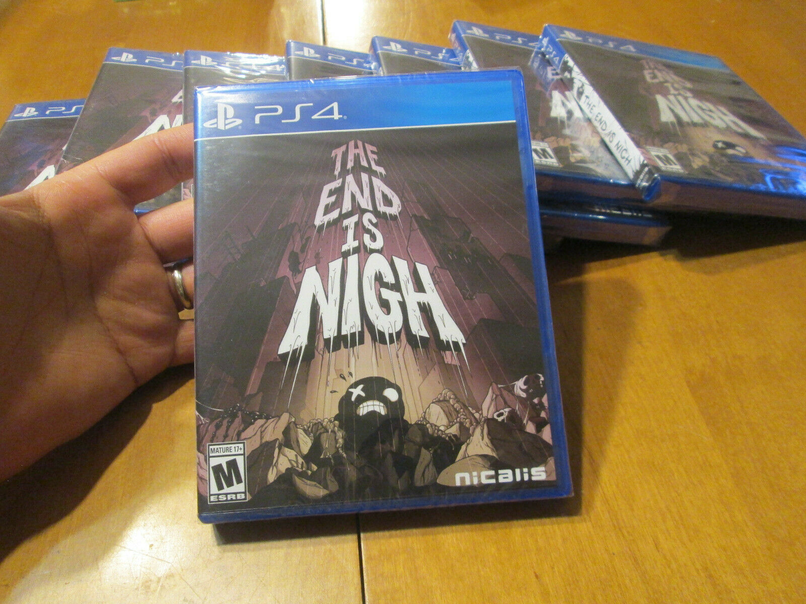 THE END IS NIGH PS4 PLAYSTATION 4 SONY BRAND NEW FACTORY SEALED