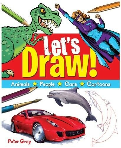 1 of 1 - New, Let's Draw!: A Fun Guide to Drawing Everything!, Peter Gray, Book