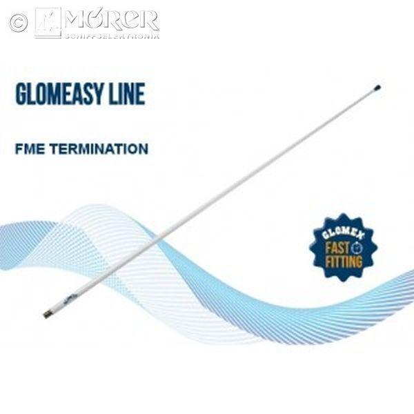 GLOMEX - UKW Antenne - VHF  FME   1,2 m - Fiberglas