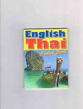 English-Thai Pocket Book Thailand Sprachführer Wörter- Buch Language Guide