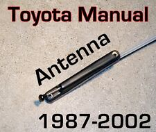 Toyota Manual PILLAR AM / FM ANTENNA Direct Fit Brand New  COROLLA
