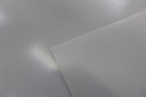 700g//qm weiß ohne Ösen 3,90€//m² Abdeckplane LKW Plane PVC Folie  0,44m breit ca