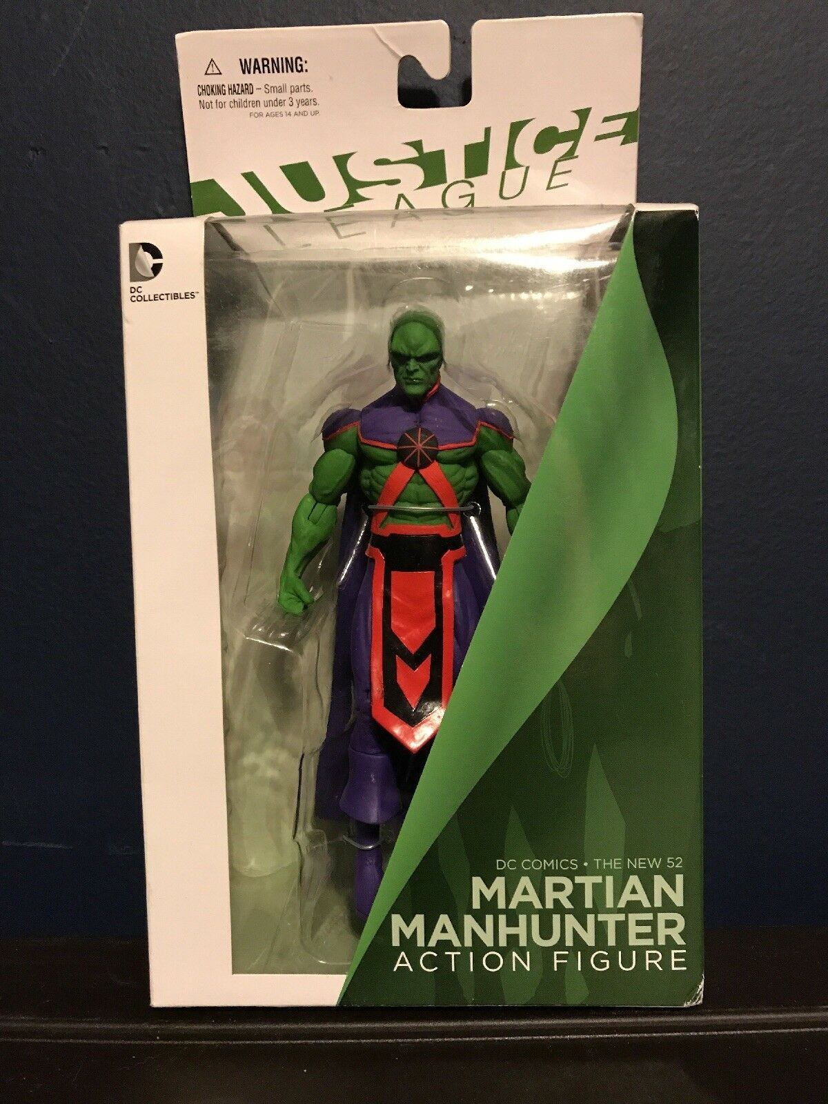New 52 Martion Manhunter Action Figure New Sealed