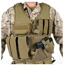New! Blackhawk Omega Elite Vest Cross Draw/Pistol Mag Coyote Tan 30EV26DE