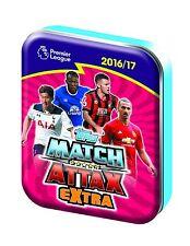 Topps Match Attax Premier League Extra 2016/17 36 Card Tin Plus LE Eden Hazard