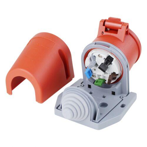 CEE Stecker Kupplung Gerätestecker Wandsteckdose Steckdose QuickConnect 16A 5Pol