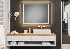 Details About Häfele Luxury Bathroom Light With Lighting Wall Mirror Led Make Up