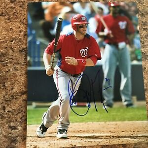 Bryce-Harper-Signed-8x10-Photo-Autograph-Washington-Nationals-Phillies